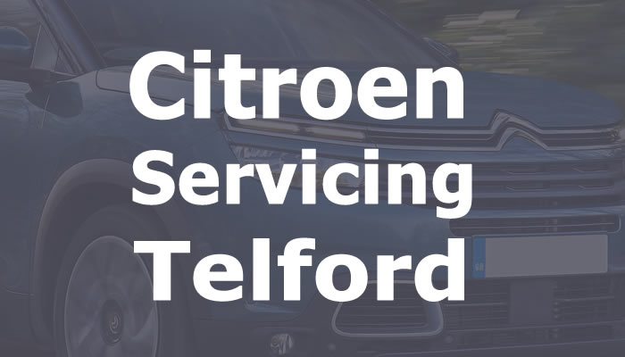 Citroen Servicing Telford